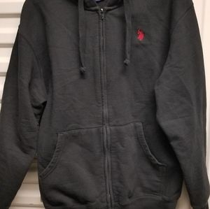 U.s. polo Association hoodie Black and in great sh